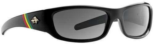 Anarchy Blacken Sunglasses - 420 Ebony / Smoke Polarized