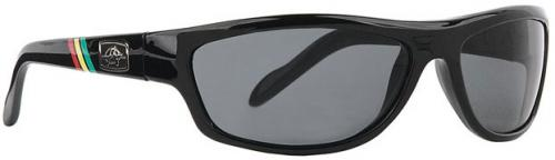 Anarchy Bedlam Sunglasses - 420 Ebony / Smoke