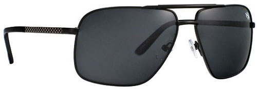 Anarchy Signal Sunglasses - Titan Black / Smoke Polarized