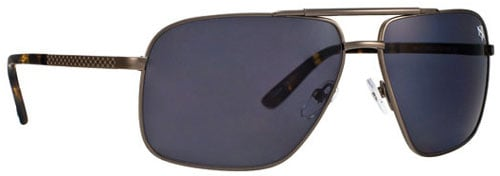 Anarchy Signal Sunglasses - Platinum / Gunsmoke