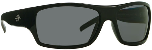 Anarchy The Syntax Sunglasses - Black / Smoke Polarized