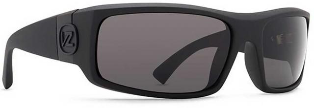 Von Zipper Kickstand Sunglasses - Matte Black / Grey