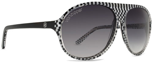 Von Zipper Rockford Sunglasses - White Czech / Grey