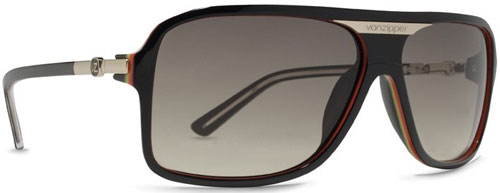 Von Zipper Stache Sunglasses - Vibrations / Grey Gradient
