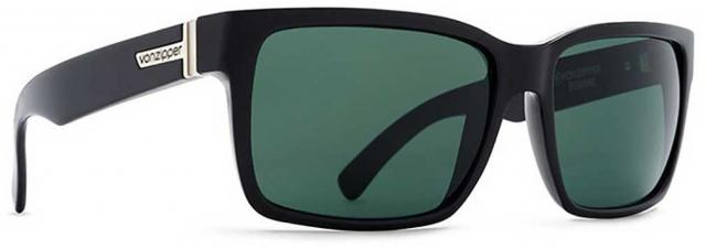 e9b2745233e4f Von Zipper Elmore Sunglasses - Black Gloss   Vintage Grey - New ...