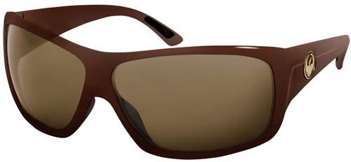 Dragon Recruit Sunglasses - Coffee / Bronze