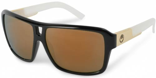 Dragon The Jam Sunglasses - Jet White / Bronze