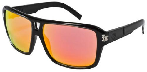Dragon The Jam Sunglasses - Jet / Red Ion