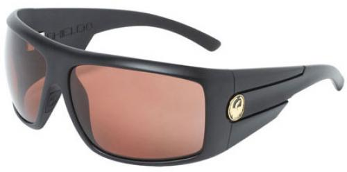 Dragon Shield Sunglasses - Matte Stealth / Copper Polarized