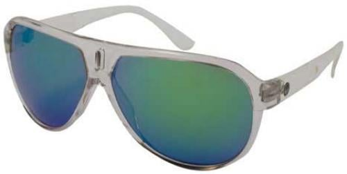 Dragon Experience II Sunglasses - Clear / Green Ionized