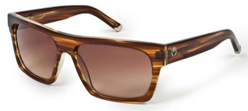 Dragon Viceroy Sunglasses - Brown Stripe / Bronze Gradient