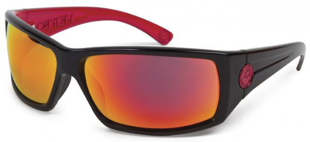 Dragon Cinch Sunglasses - Jet Red / Red Ion