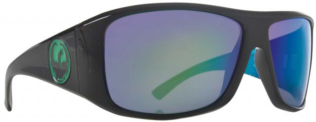 Dragon Calavera Sunglasses - Green Nebula / Green Ion