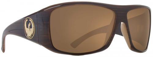Dragon Calavera Sunglasses - Mocha Stripe / Bronze Performance Polarized