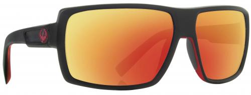 Dragon Double Dos Sunglasses - Jet / Red Ion