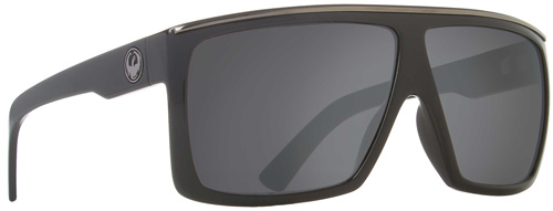 Dragon Fame Sunglasses - Jet / Grey