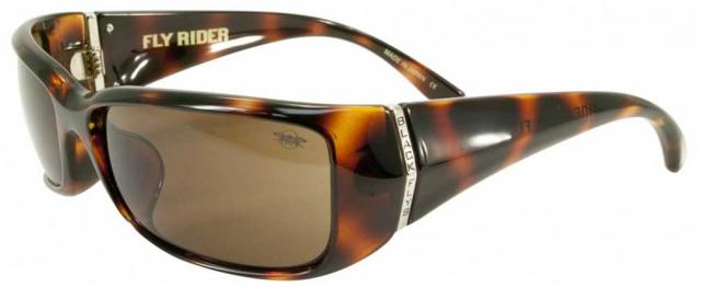 Black Flys Fly Rider Sunglasses - Shiny Tortoise / Amber