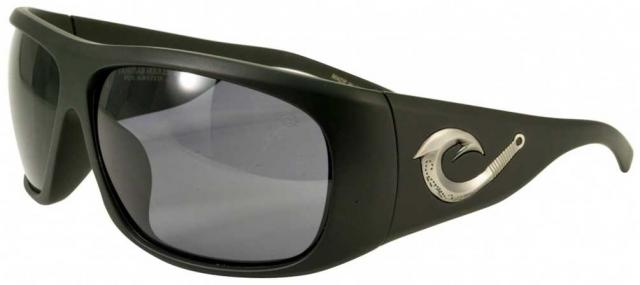 Black Flys Tahitian Hooker Sunglasses - Matte Black / Smoke Polarized