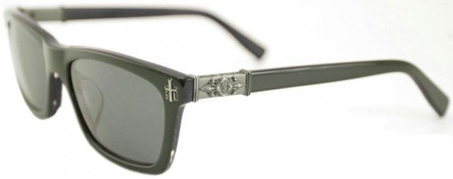 Black Flys Gothic Fly Sunglasses - Shiny Black / Smoke