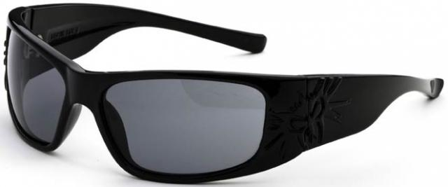 Black Flys Sonic II Sunglasses - Matte Black / Grey