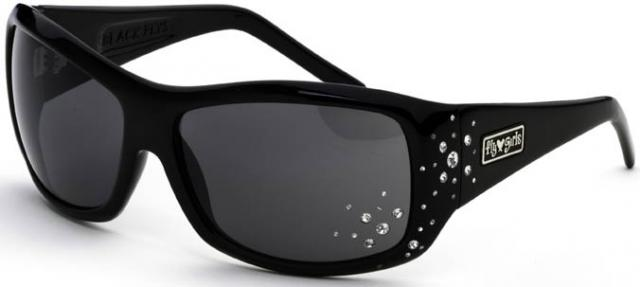 Fly Girls Snow Fly Sunglasses - Black / Grey