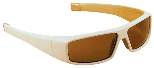 Nike Punk Jock Sunglasses - Victory White Gold / Brown