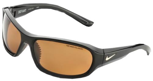 Nike Defiant Sunglasses - Black / Brown Polarized