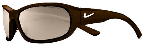 Nike Defiant Sunglasses - Dark Oak / Brown
