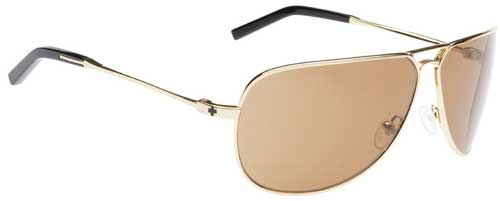 Spy Wilshire Sunglasses - Shiny Gold / Bronze