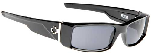 Spy Hielo Sunglasses - Black / Grey