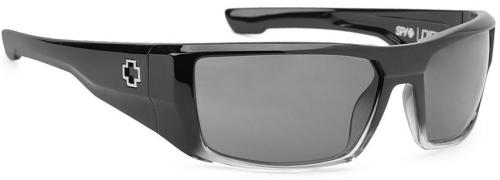 Spy Dirk Sunglasses - Black Fade / Grey