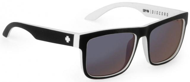 Spy Discord Sunglasses - Whitewall / Grey Blue Spectra