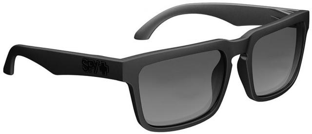 Spy Helm Sunglasses - Matte Black / Grey