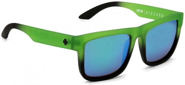 Spy Discord Sunglasses - Rolling Hills / Green Spectra