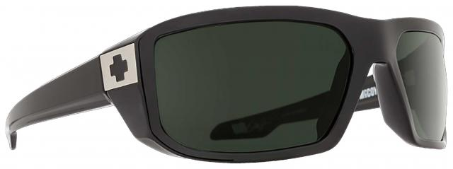 Spy McCoy Sunglasses - Black / Happy Grey Green