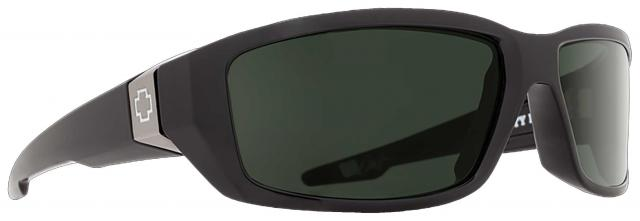 Spy Dirty Mo Sunglasses - Black / Happy Grey Green