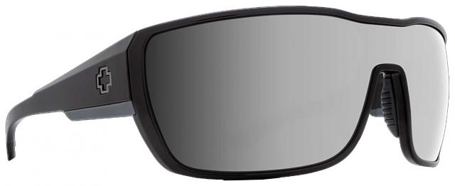 Spy Tron II Sunglasses - Black / Happy Bronze Polar with Black Mirror