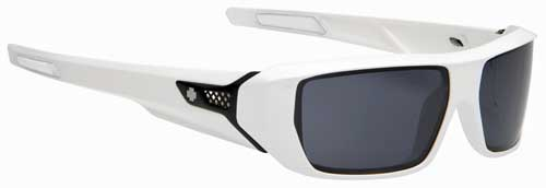 Spy HSX Sunglasses - White / Grey