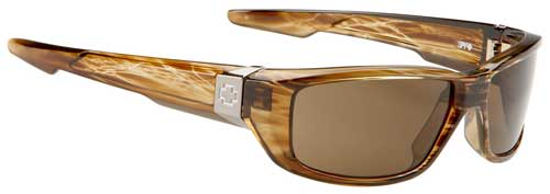 Spy Dirty Mo Sunglasses - Brown Stripe Tortoise / Bronze
