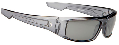 Spy Logan Sunglasses - Clear Smoke / Silver Miror