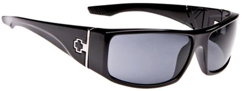 Spy Cooper XL Sunglasses - Shiny Black / Grey