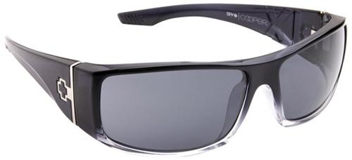 Spy Cooper XL Sunglasses - Black Fade / Grey