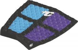 Creatures Of Leisure Garrett Parks Traction Pad - Cyan / Violet