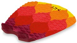 DaKine Machado Pro Model Traction Pad - Sunset Flames