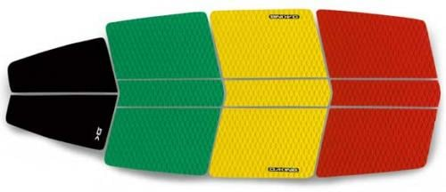 DaKine SUP Surf Traction Pad - Rasta