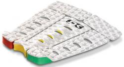 DaKine Kalani Pro Model Traction Pad - White / Rasta