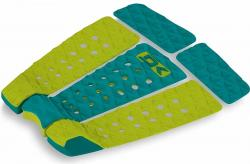 DaKine Kalani Pro Model Traction Pad - Teal / Citron