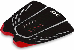 DaKine Clutch Traction Pad - Black / Red