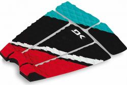 DaKine Shredder Traction Pad - Teal / Red