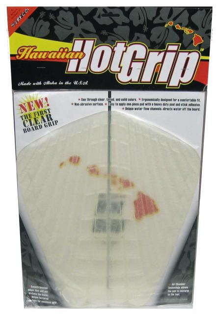 Hawaiian Hot Grip Traction Pad - Clear